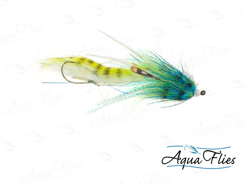 12335 Mini Dirty Hoh, Blue/Chartreuse
