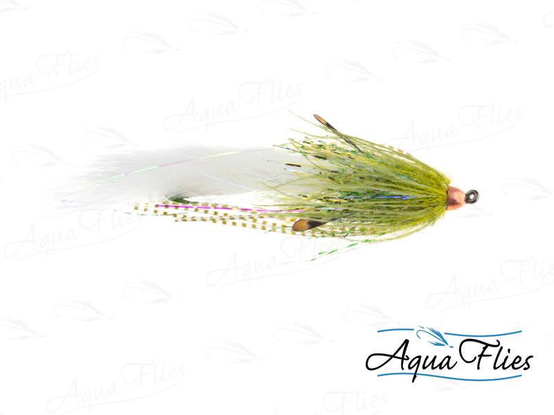 12336 Mini Dirty Hoh, Olive/White