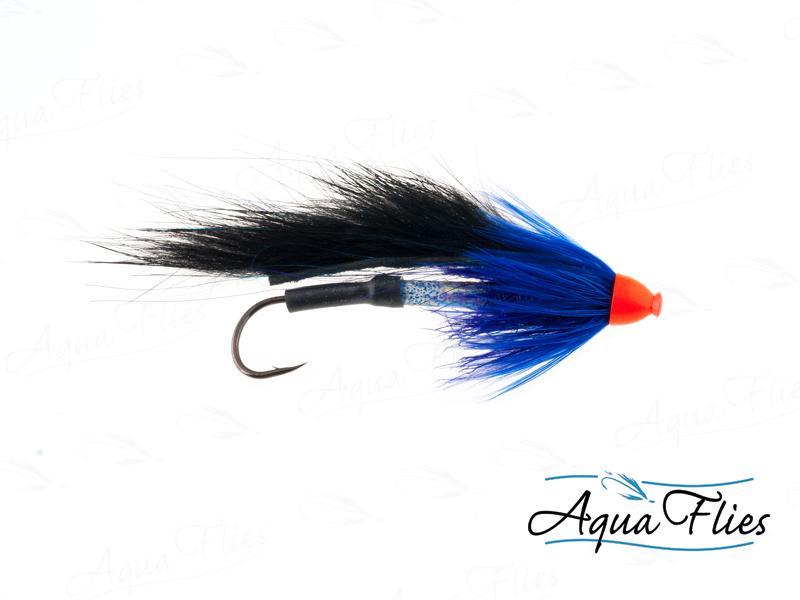 11021 Stu's Bunny Hare Leech Tube, Black/Blue