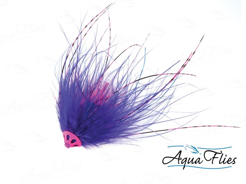 11076 Stu's Metal Head Tube, Purple/Pink