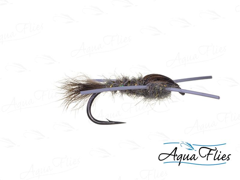 17017 TDF Hare's Ear Rubber Legs