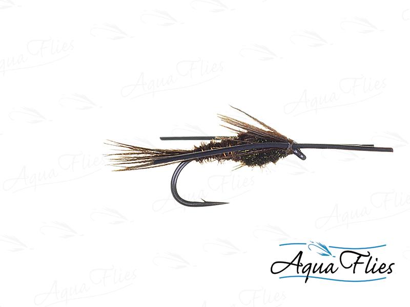 17019 TDF Pheasant Tail Rubber Legs