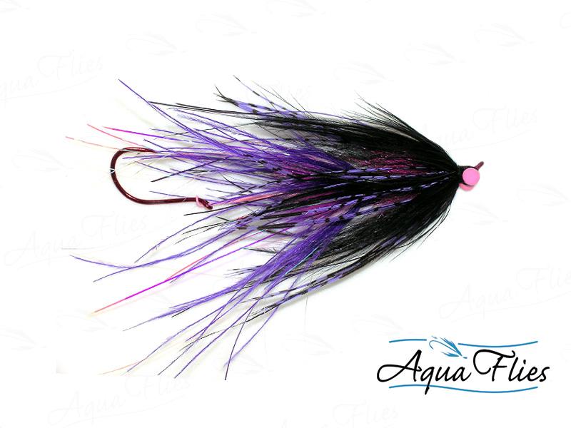 12120 Stu's Ostrich Intruder, Purple/Black