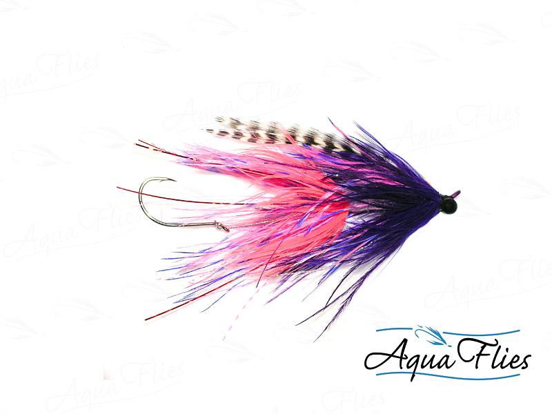 12015 Stu's Barred Ostrich Intruder, Pink/Purple