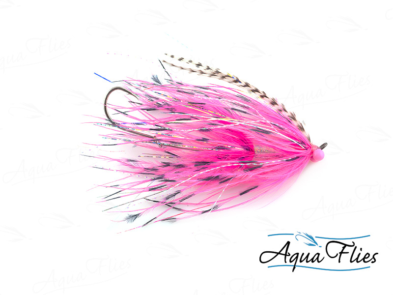 12020 Stu's Barred Ostrich Intruder, Pink/Pink