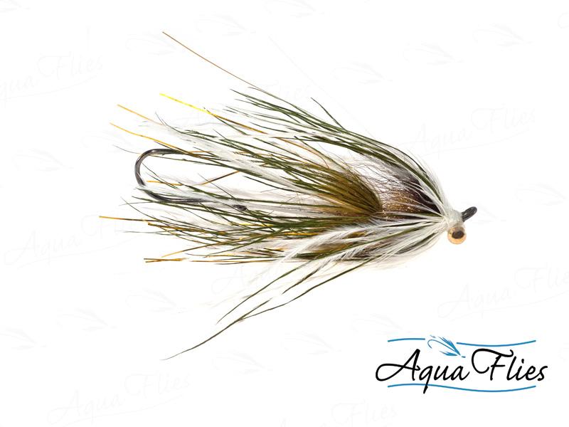 12109 Stu's Ostrich Mini-Intruder, Olive/White