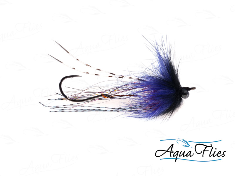 12058 Brett's Klamath Intruder, Black/Purple