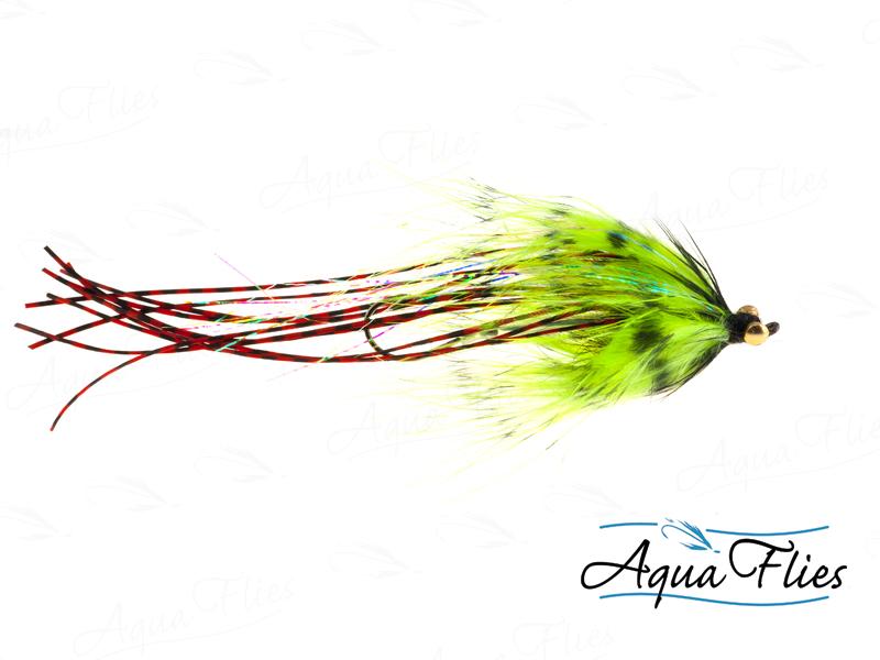 12079 Flexi Wiggler, Chartreuse/Black