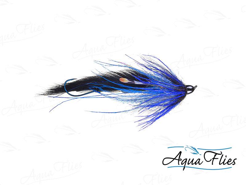 12320 Dirty Hoh, Steelhead Size, Black/Blue