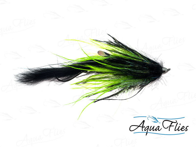 12331 Dirty Hoh, Chinook Size, Black/Chartreuse
