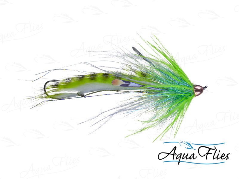 12332 Dirty Hoh, Chinook Size, Chartreuse/White