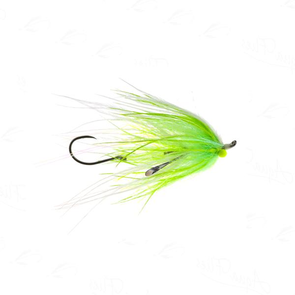 12357 Ultra Mini-Intruder, Chartreuse/White