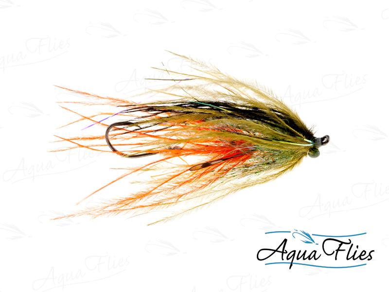 12358 Ultra Mini-Intruder, Olive/Orange