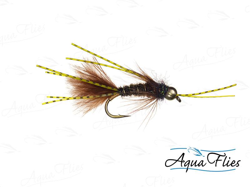 17077 Prince Bugger Rubber Legs, Peacock