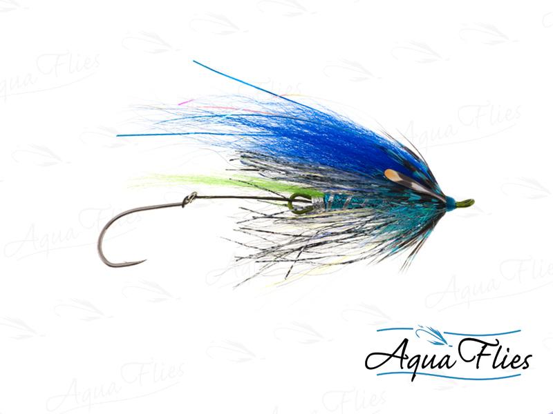 13100 Senyo's GL Predator Scandi, Blue/Silver