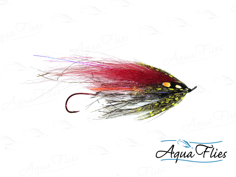 13104 Senyo's GL Predator Scandi, Black/Red