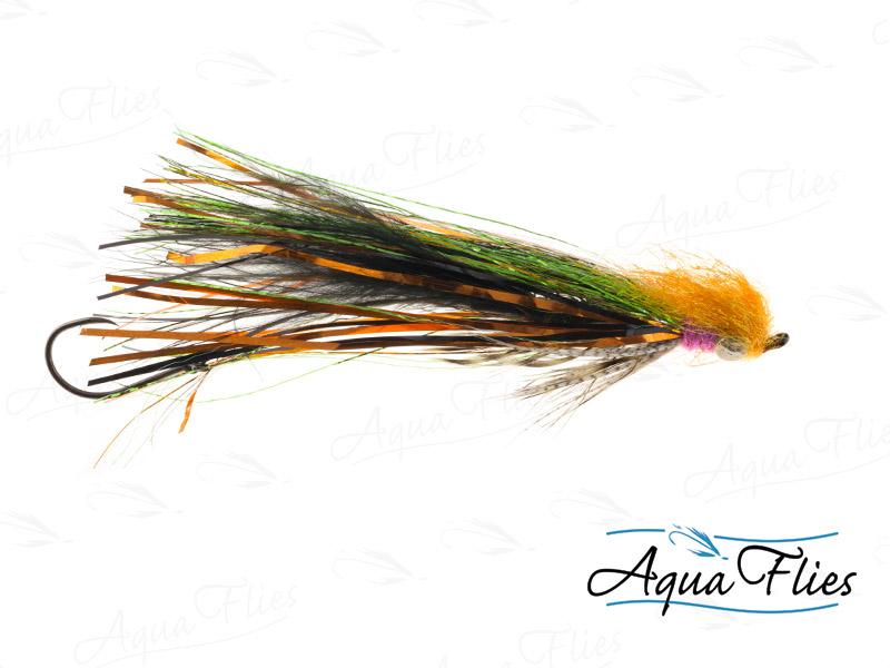 13201 Feenstra's Halloween Leech, Rainbow/Orange