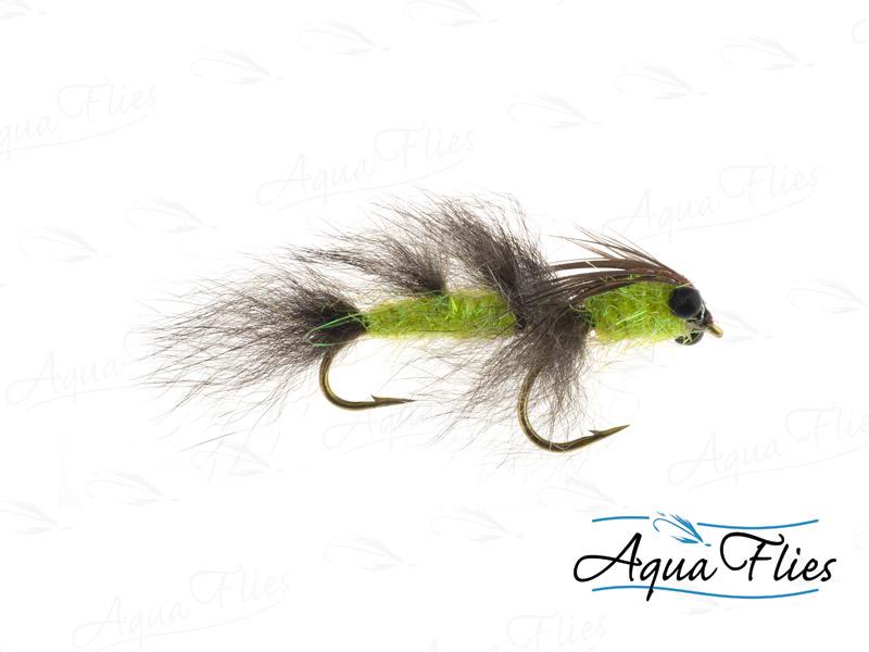 13204 Feenstra's Aussie Possum Hex, Yellow/Gray