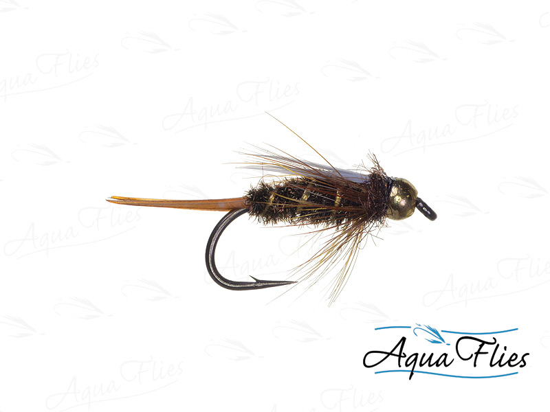 17046 TDF Bead Head Prince, Peacock