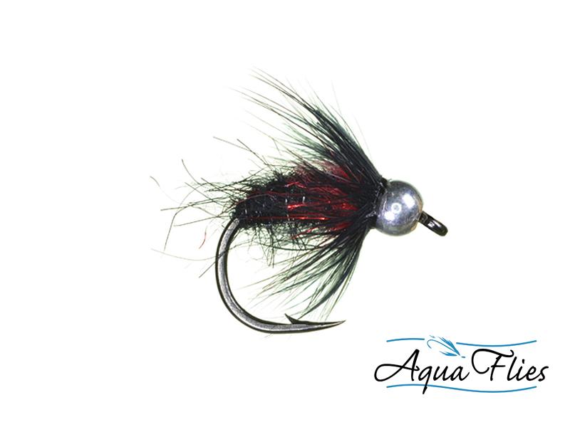 17007 TDF Bead Head Black Bug