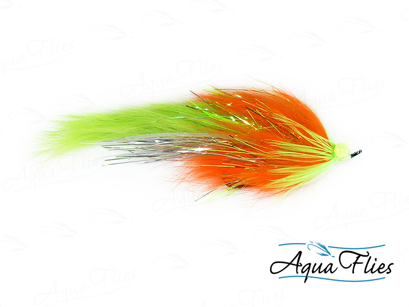14112 Hareball Leech, Chartreuse/Orange