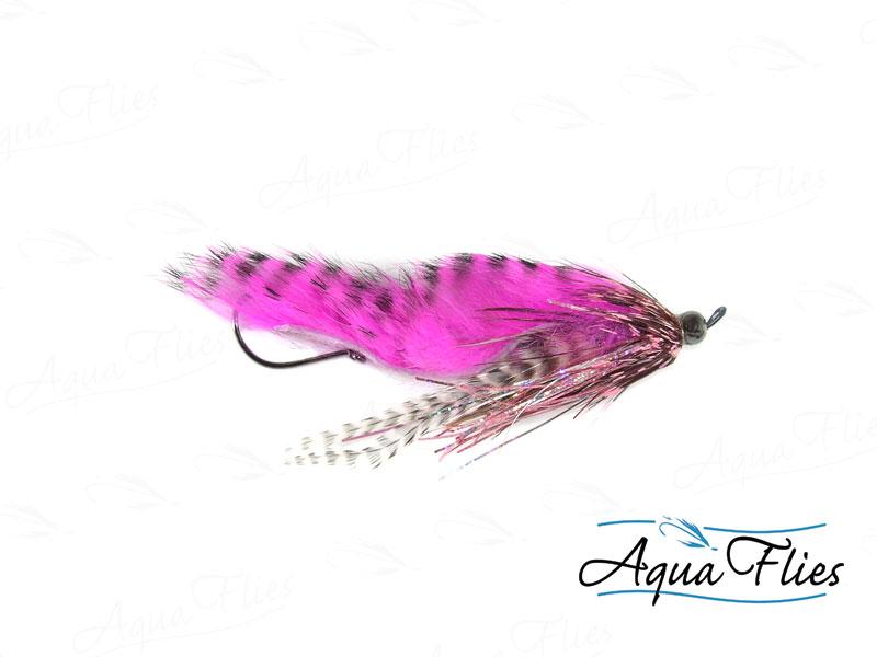 14132 Hartwick's Tungsten Cyclops Leech, Pink