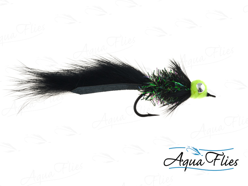 14145 Starlight Leech, Black/Chartreuse