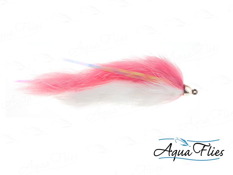14172 Dolly Llama, Salmon Pink/White