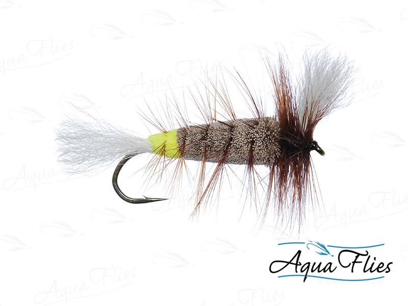 16125 Wulff Bomber, Gray/Green Butt
