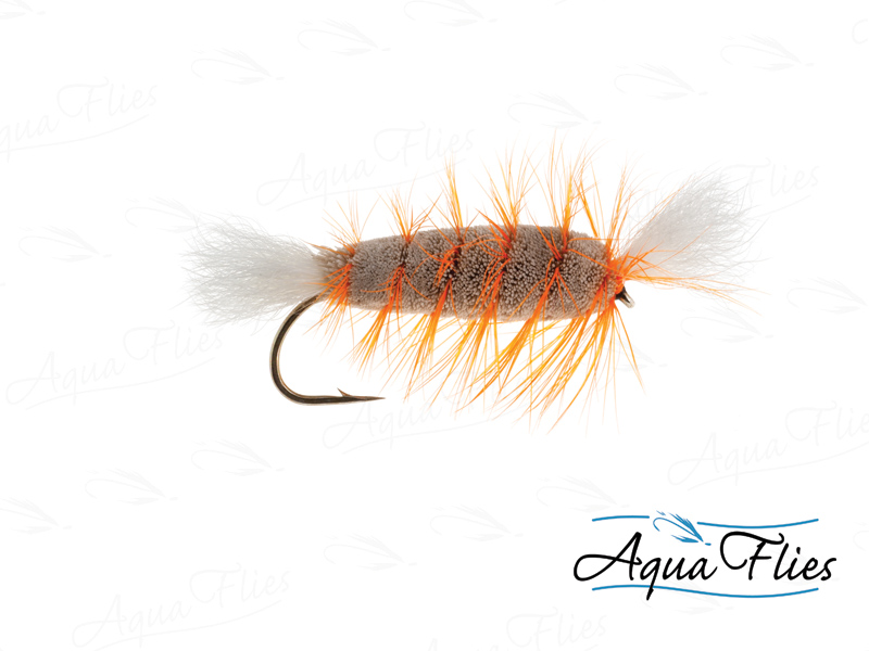 16129 Cigar Bomber, Gray/Orange
