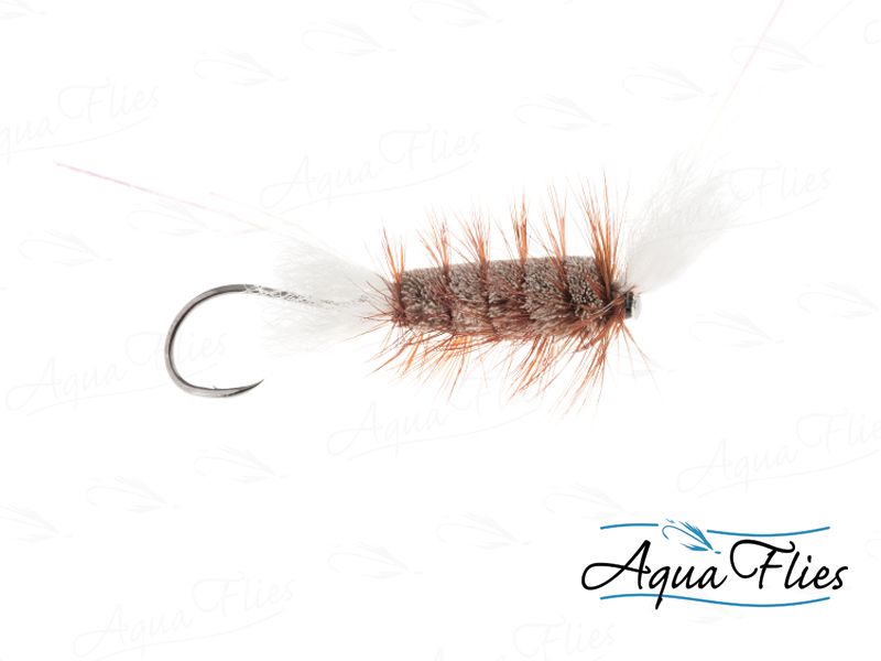 16135 Cigar Tube, Gray/Brown