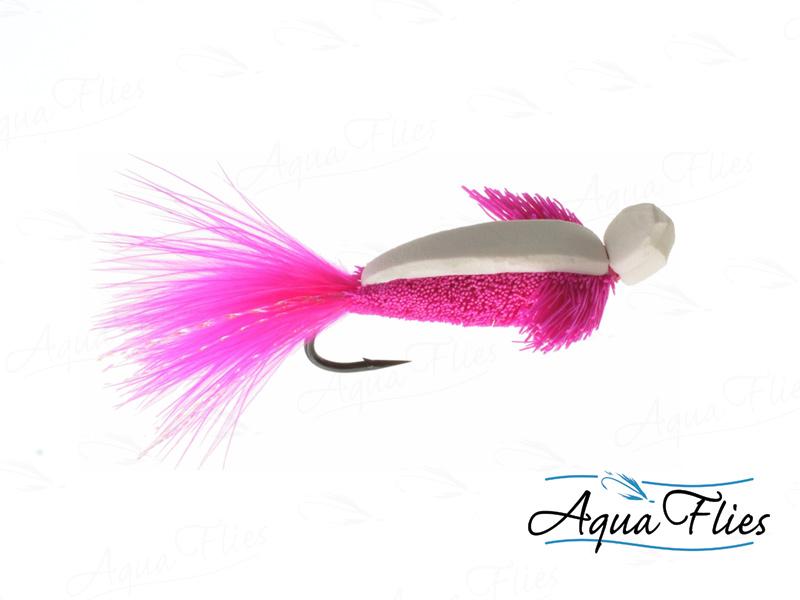16142 Foam Wog, Pink/White