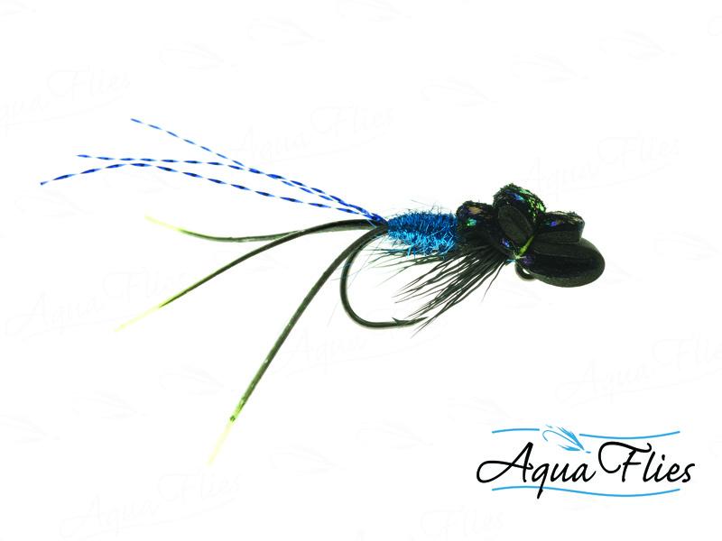 16190 Hoody's Hanger, Black/Blue