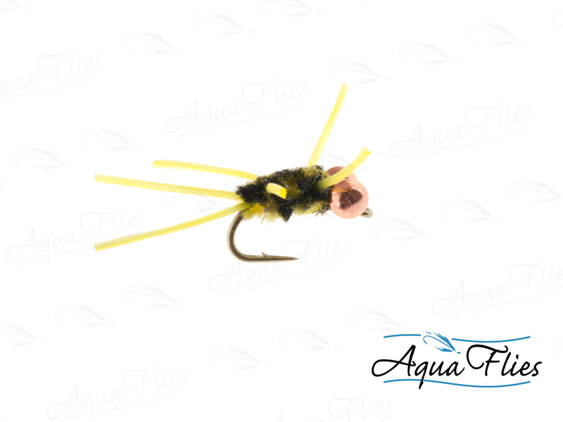 17055 TDF BE Big Bug Rubberlegs, Brindle
