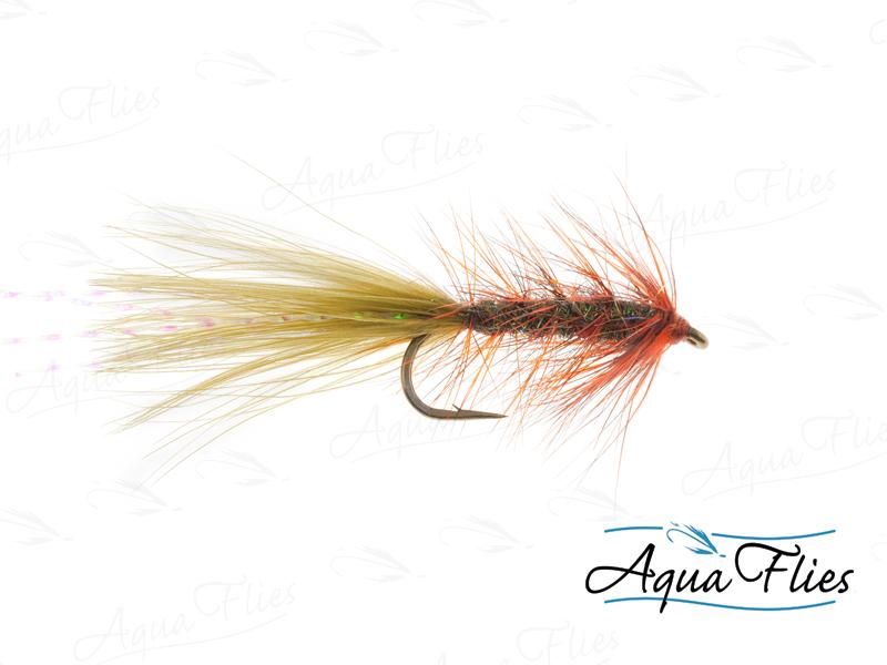 17113 Stillwater Ice Leech, Burnt Orange/Peacock
