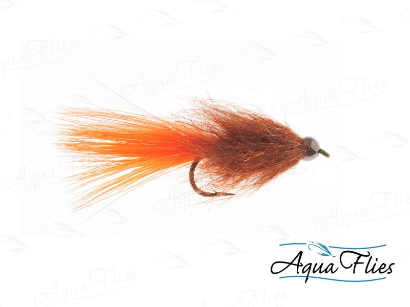 17120 BH Tungsten Stillwater Leech, Burnt Orange