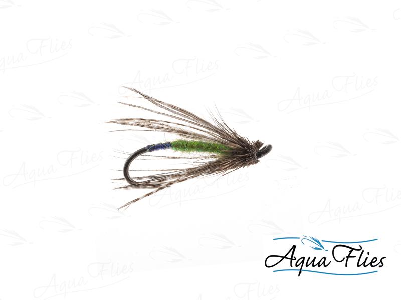 17131 Bernie's Mini Mud, Caddis Green-Size 12