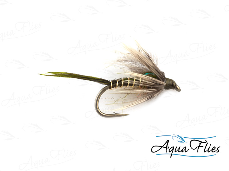 17158 Lance's Soft Hackle, Gray/Olive