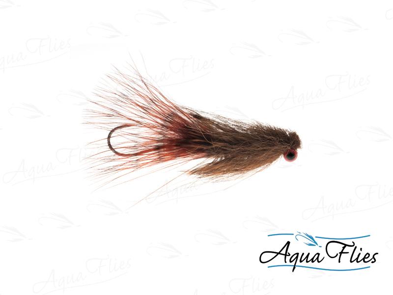 17806 Darkes' Red Eye Sculpin Tube, Brown-Size 4