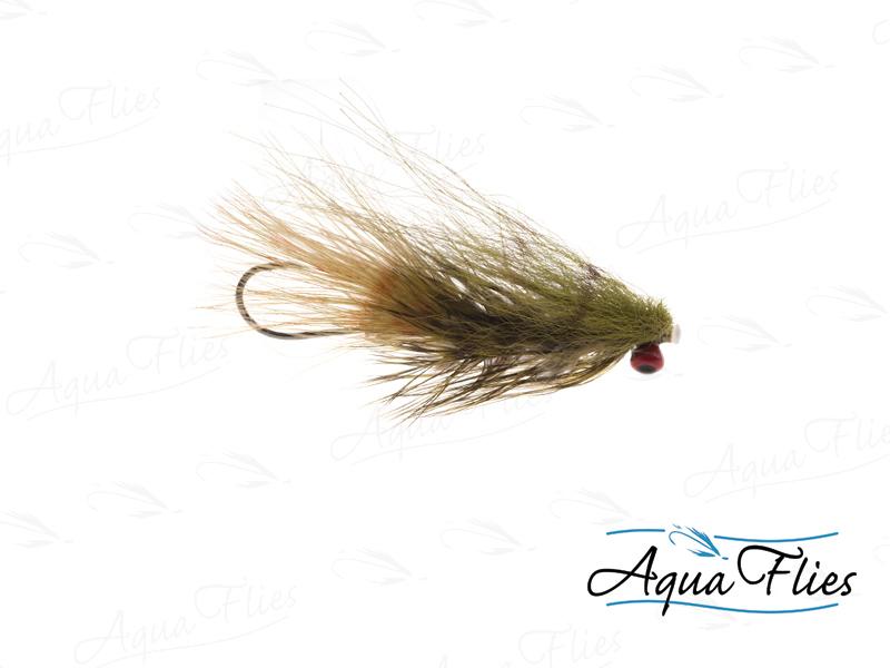 17807 Darkes' Red Eye Sculpin Tube, Olive-Size 4
