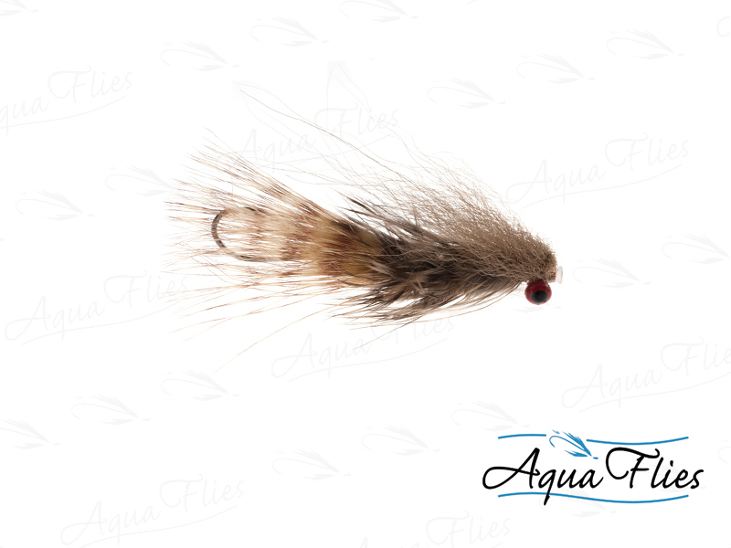 17808 Darkes' Red Eye Sculpin Tube, Tan-Size 4