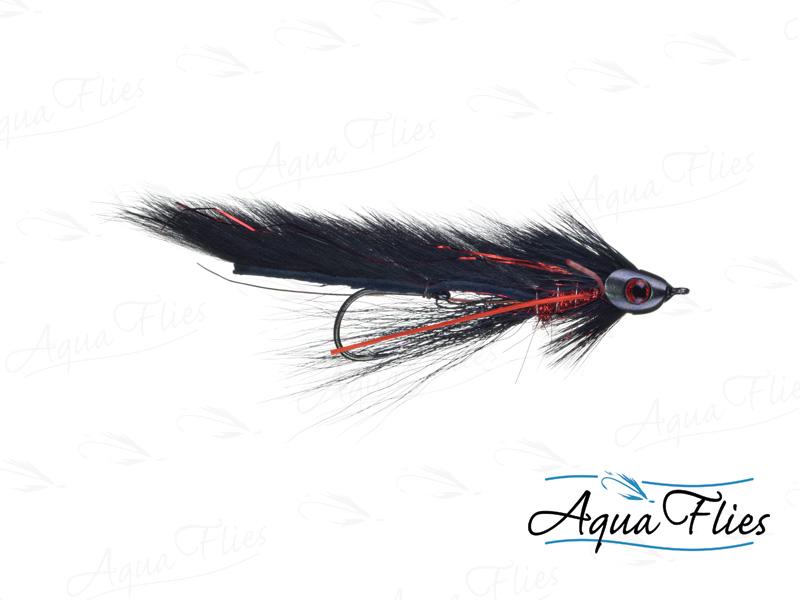 17902 Fish Skull Black Brahan Zonker - Trailer, Red/Black