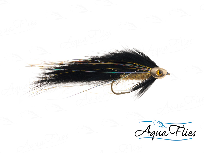 17911 Fish Skull Zonker, Black