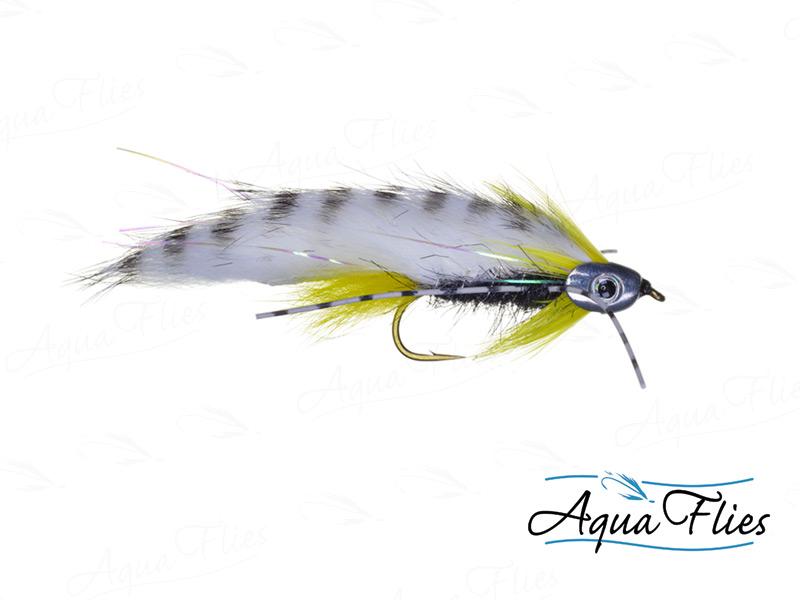 17913 Fish Skull Black Ghost, Black/Yellow