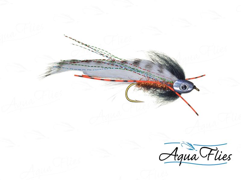 17917 Fish Skull Rainbow Zonker, Rainbow Trout