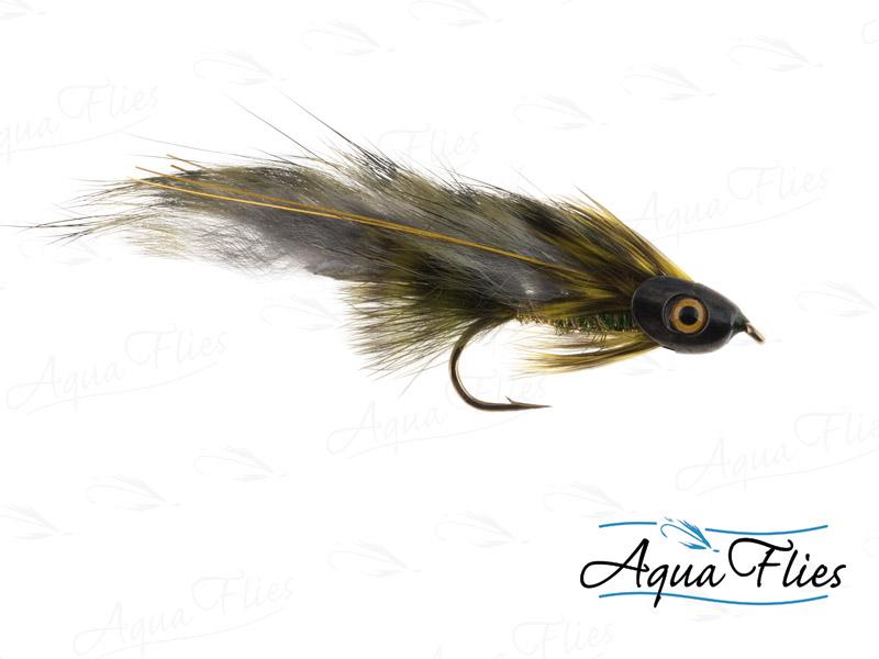 17919 Fish Skull Olive