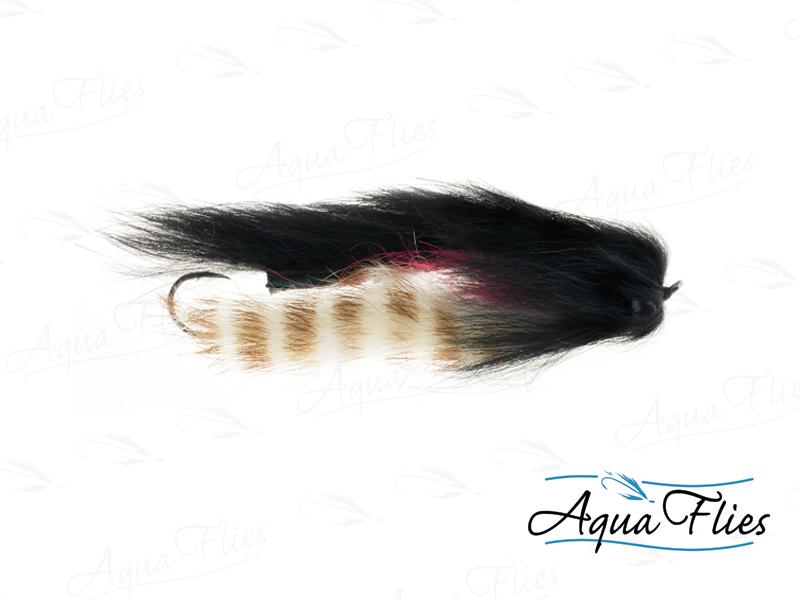 17930 Mike's Sculpin, Black/White/Tan Barred-Size 2