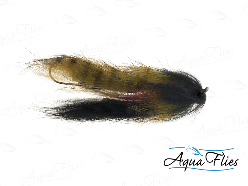 17932 Mike's Sculpin, Olive/Black-Size 2