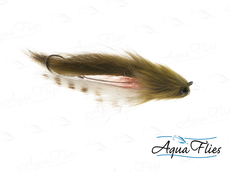 17933 Mike's Sculpin, Olive/White/Tan Barred-Size 2