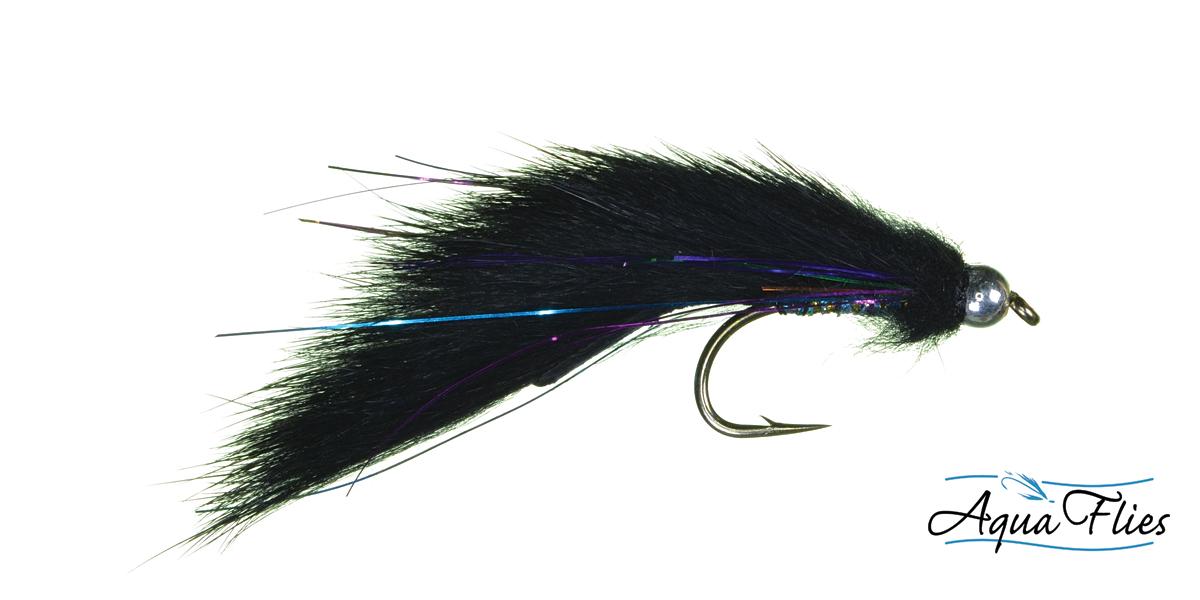17000 Bead Head Electric Leech, Black